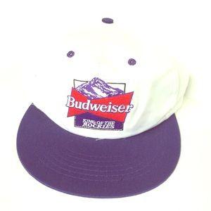 Vintage Budweiser Rockies Hat